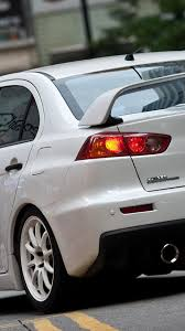 mitsubishi evo iphone wallpaper japanese mitsubishi lancer evolution x cars vehicles white