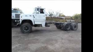 1979 ford 8000 semi truck cab and chassis for sale sold at