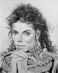 michael jackson portrait painting from photo photo to painting