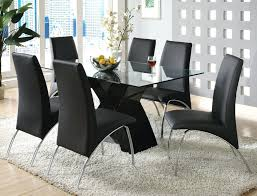 chrome dining room chairs dining chairs black and chrome dining room chairs black faux