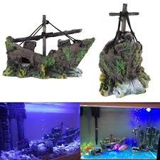 aquarium shipwreck decoration go for deals