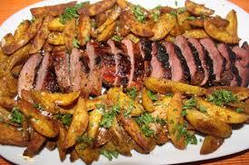cuisiner magret de canard au four magret de canard et patatos a la plancha bienvenue