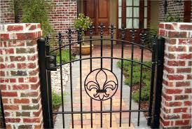 Decorative Garden Gates Home Depot Decorative Residential Wrought Iron Gates Milton Fence Company