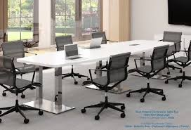 5 foot conference table 12 foot modern boat shaped conference table with grommets 5 laminate