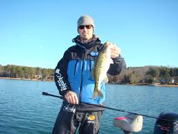 santee cooper fishing guides winter bass fishing on lake keowee with guide brad fowler