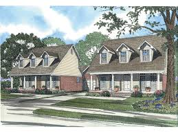 carter cape cod style duplex plan 055d 0371 house plans and more