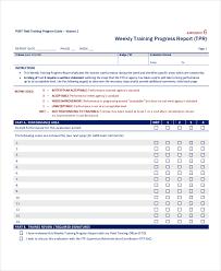 progress report template expin memberpro co
