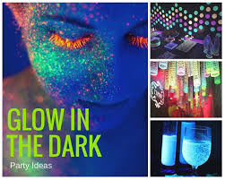 Glow In The Dark Party Decorations Ideas House Party Ideas For Teenagers