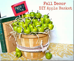 Fall Decor Diy - fall decor diy apple basket i heart nap time