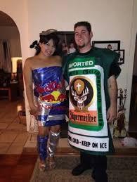 Beer Halloween Costume Coolest Jager Bomb Couple Halloween Costume Couple Halloween