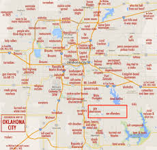 zip code map okc oklahoma city zip code map at of roundtripticket me