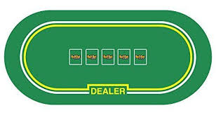 neoprene game table cover roll out gaming casino poker dealer table top no slip rubber foam