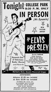 elvis s 1956 appearances in charleston sc