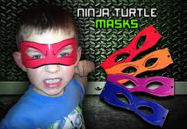 ninja turtle masks digital file