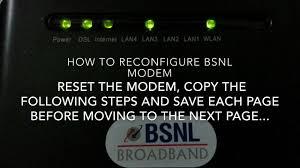 red internet light on modem bsnl broadband syrma modem configuration red light problem solved