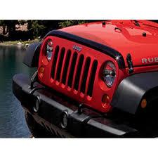 mopar jeep wrangler mopar 82210277ab wrangler jk hood air deflector jeep 2007 2018