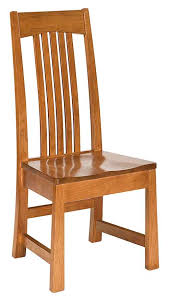 Straight Back Chairs Amish Chairs Straight Back The Amish Market Amish Crafted