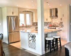 kitchen reno ideas kitchen island re do with pillars pinteres