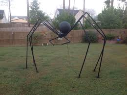 halloween spider i made this out of pvc pipe halloween