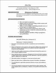 Sample Diesel Mechanic Resume by Creative Ideas Maintenance Mechanic Resume 3 Maintenance