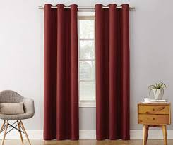 Burgundy Curtains For Living Room Curtains U0026 Window Treatments Big Lots