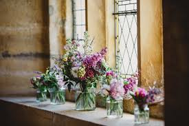 wedding flowers jam jars luxury wedding florist dorset hshire wiltshire clair