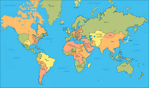 World Map With Names Of Countries by Uncategorized Sci Fi Sketches