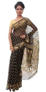 dhakai jamdani saree jamdani silk and cotton sarees of bengal shop online for dhakai saris