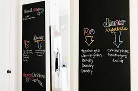 kitchen chalkboard wall ideas how to make a diy chalkboard