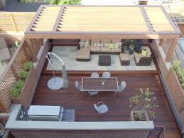 rooftop deck design ideas delightful bamboo rooftop deck design seating sweet