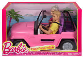 barbie beach cruiser barbie and ken dolls