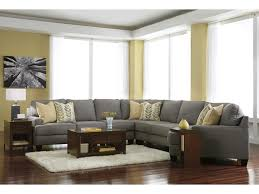 Double Chaise Sectional Furniture Oversized Sectionals Faux Leather Sectional Ashley