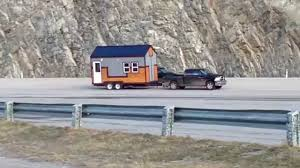 Micro Homes Hummingbird Micro Homes Demonstrates Towing A Micro Home Youtube