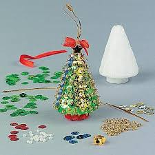 sequin tree craft kits