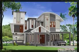 Nonsensical 5 Model House Plan And Elevation Kerala Plans With