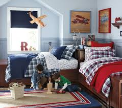 Pottery Barn Kids Bedroom Furniture by Two Boys In One Room Belden Bedroom Set Pottery Barn Kids For