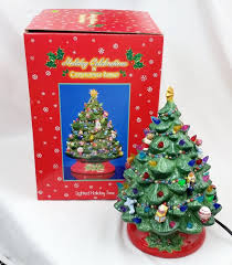 christopher radko holiday celebrations ceramic lighted christmas