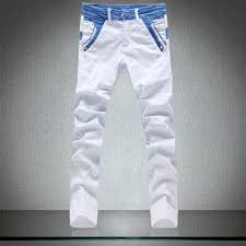 Skinny White Jeans Mens White Denim Mens Jeans Bbg Clothing