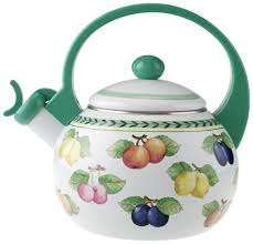 amazon com villeroy u0026 boch french garden kitchen tea kettle 67oz