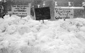 worst blizzard in history denver s biggest blizzard ever wow photo wednesday denver