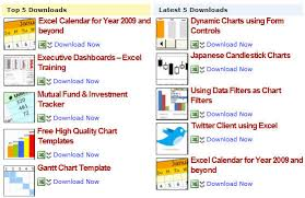 free download various excel templates