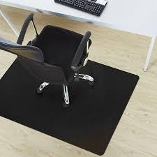 sol bureau tapis protege sol noir protection sol dur bureau 3 tailles