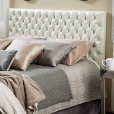 King Tufted Headboards Jezebel Adjustable Full Queen Button Tufted Headboard By