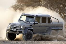 mercedes 6 x 6 goodbye you beautiful 6 wheeled behemoth mercedes ends g 63
