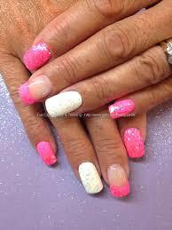 pink and white acrylic nail designs u2013 slybury com