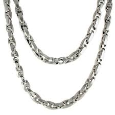 stainless necklace chain images Men 39 s stainless steel mariner chain necklace