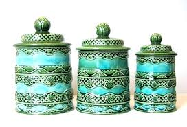 kitchen canisters green ceramic kitchen canisters bikepool co
