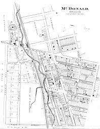 Washington County Maps by Washington County Genealogy Pagenweb Project Map Mcdonald