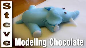 how to make modeling chocolate simple easy recipe youtube
