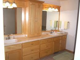 Solid Wood Bathroom Cabinet Oak Vanity Cabinets For Bathrooms Bathrooms Vanity Cabinets Solid